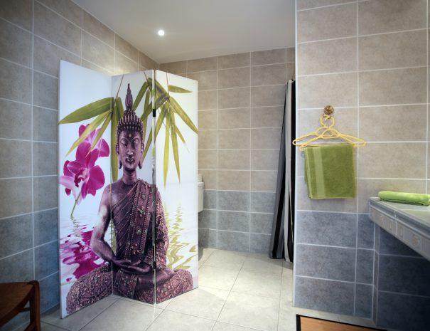 décoration salle de bain chambre d'hôte