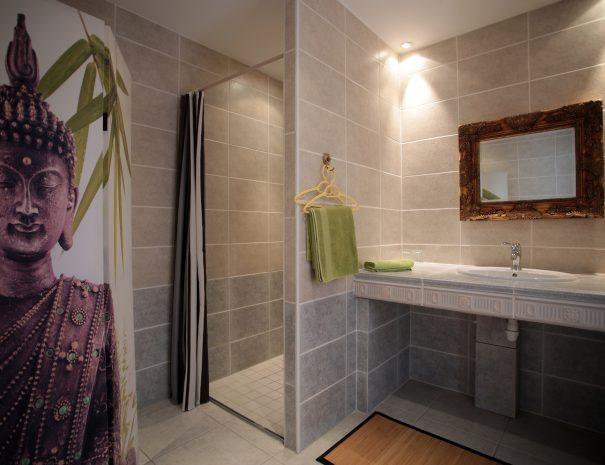 salle de bain chambre d'hôte Bali Les lits marins